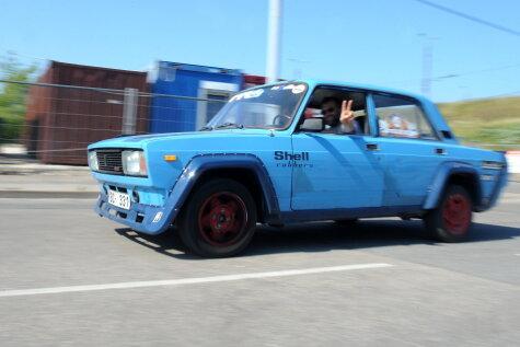 1600 километров в час: В Латвии проходит