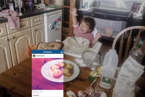 Ну и бардак! Блогеры показали, что скрывается за гламурными кухонными фото