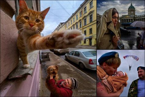 20 мастерских уличных фото, на которых ты увидишь настоящий Санкт-Петербург