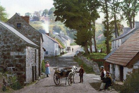 Цветные фото Ирландии 1890-х годов, из-за которых туда уехали тысячи латвийцев