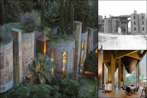 Архитектор 45 лет превращал старый цементный завод в свой новый дом. Результат? Вау!