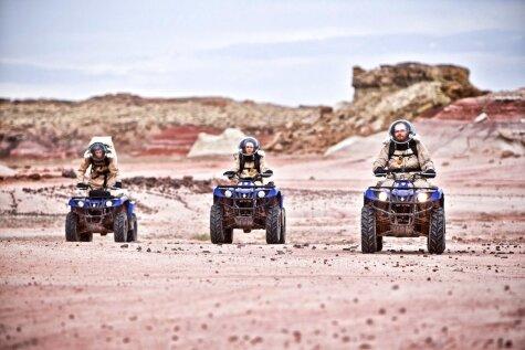 Astronauti trenējas dzīvei uz Marsa