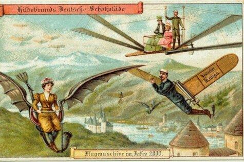 (Не)Сбыча мечт: 12 картинок-предсказаний из 1900 года про то, как мы живем сегодня