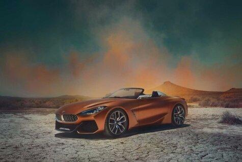 ФОТО: BMW Concept Z4 — новый родстер BMW, который сделан вместе с Toyota