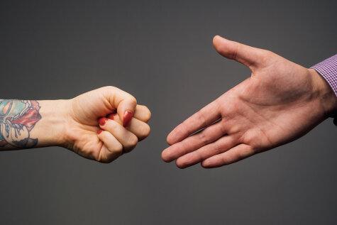 Pareiza rokasspiediena gids iesācējiem