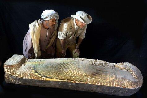 Arheologi atrod 3600 gadus vecu mūmiju