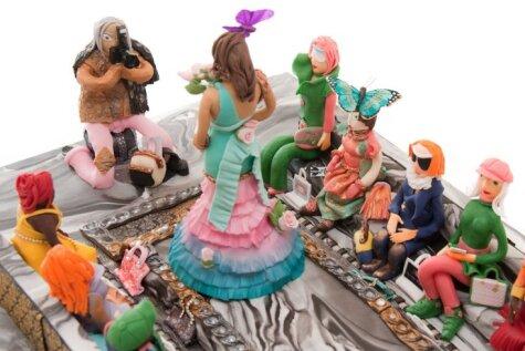 Miljardiera dāvana meitai – pasaulē dārgākā kāzu torte par 75 miljoniem