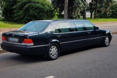 На продажу за €500 000 выставлен Mercedes-Benz Бориса Ельцина (ФОТО)