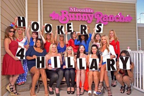 Prostitūtas iesaistās Hilarijas Klintones vēlēšanu kampaņā