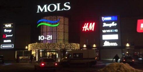 Ārkārtas situācija tirdzniecības centrā 'Mols'