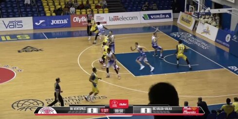 'OlyBet' basketbola līga: 'Ventspils' - 'Valga-Valka/Maks&Moorits'. Pilns ieraksts