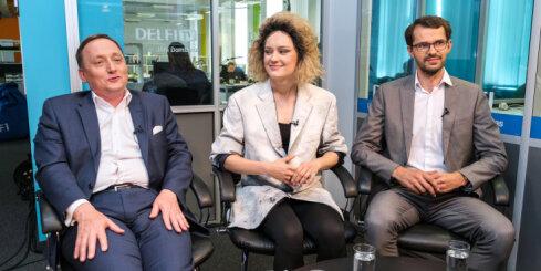 'Delfi TV ar Jāni Domburu': skatuves tēls, latvieši, krievi un 'mūžīgi perspektīvais' Bondars