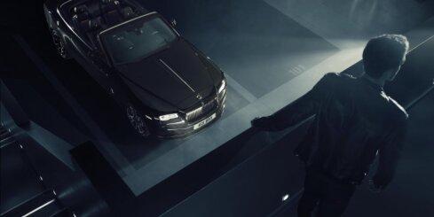 'Black Badge' versija tagad arī 'Rolls-Royce Dawn' kabrioletam