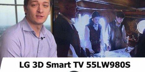 'Nākotnes parks' testē LG HD 3D LED