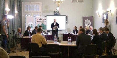 Diskusija par reģionālo attīstību