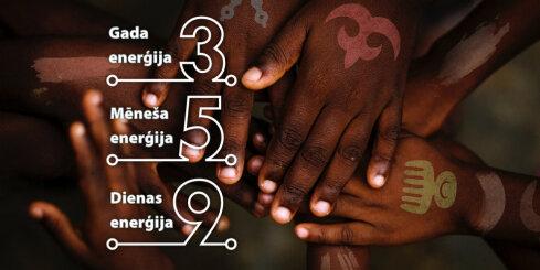 4. februāra numeroloģiskais dienas fons