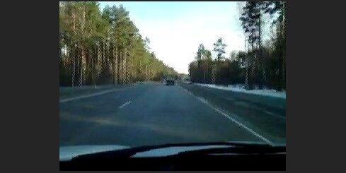 Avārija uz šosejas A5