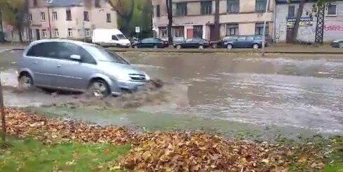 Plūdi Vienības gatvē