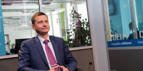 'Delfi TV ar Jāni Domburu': ZZS nav komunistiska partija, uzsver Krauze