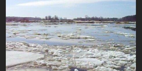 Ledus iešana pie Līvāniem
