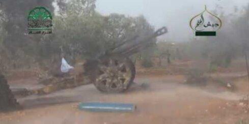 Sīrijā izmanto 2. pasaules kara ieročus