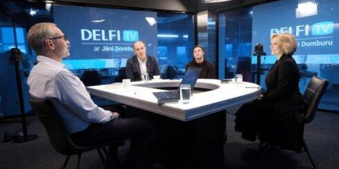 'Delfi TV ar Jāni Domburu' atbild 'Homo Novus' režisore un aktieri