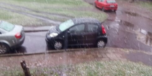 Sniegputenis Rīgā