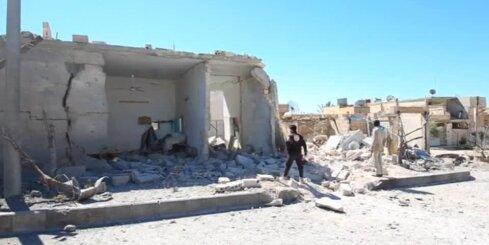 Nosoda uzbrukumu Sīrijā