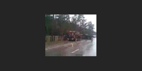 Kravas auto avārija ceļa posmā Daugavpils - Rīga - 2