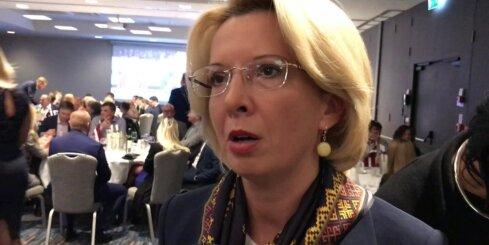 Ināras Mūrnieces komentārs pēc vēlēšanas iecirkņu slēgšanas