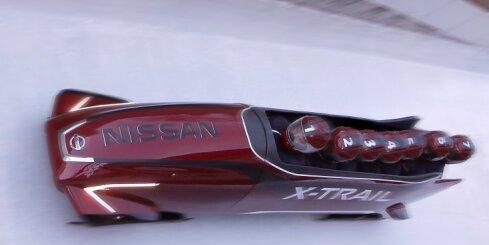 'Nissan' radījis septiņvietīgas bobsleja kamanas