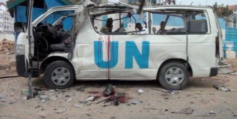Somālijā uzspridzina autobusu ar ANO darbiniekiem