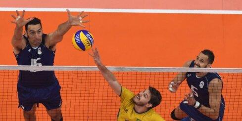 Riodežaneiro vasaras olimpisko spēļu vīriešu volejbola turnīra finālmaču rezultāti (21.08.2016.)