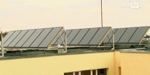 Lielākie ieguvēji no karstuma būs saules sistēmu izmantotāji