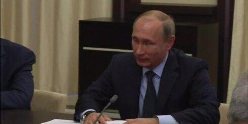 'Bloomberg': Putins gatavojas gaisa uzbrukumiem Sīrijai, ja netiks panākta vienošanās ar ASV
