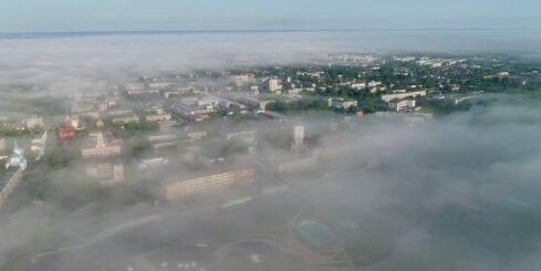 Migla virs Jelgavas