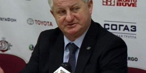 Rīgas 'Dinamo' atstāj minskiešus 'sausā'. Preses konference