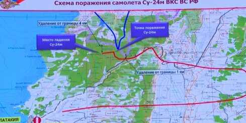 Krievija izklāsta savu notriektās lidmašīnas incidenta versiju