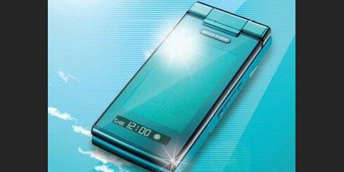 Mobilais tālrunis ar saules baterijām
