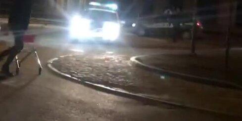 Jēkabpolī policija dzenas pakaļ ļaundarim ar iepirkumu ratiņiem