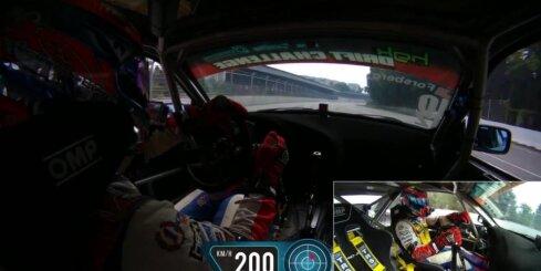 Kristaps Blušs Biķerniekos uzstādījis drifta ātruma rekordu