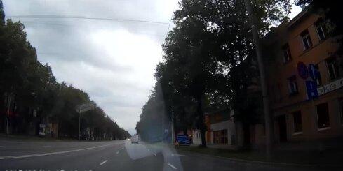Piemērs, kā bieži rodas avārijas Rīgā