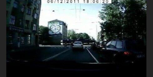 Riteņbraucējs - pašnāvnieks Lācplēša ielā