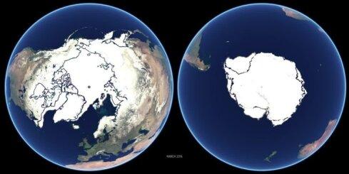 Polārā ledus kušana