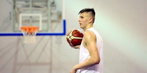 Video: Kā Porziņģis Latvijas izlases rindās trenējās Ventspilī