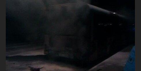 Возгорание автобуса 2