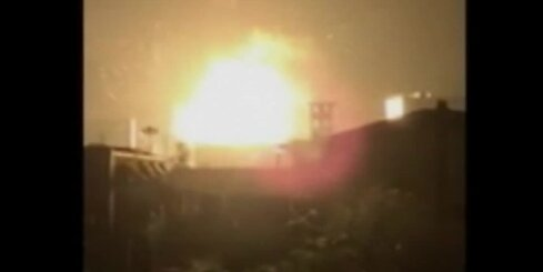 Šausminoši video: Ķīnas pilsētā eksplodējusi sprāgstvielu krava
