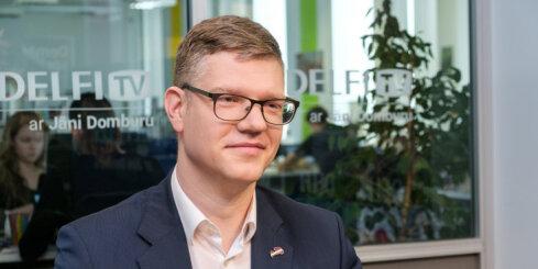 'Delfi TV ar Jāni Domburu': Ķirsis par 'Vienotības' dzīvotspēju, veciem viepļiem un Rīgas kaķiem