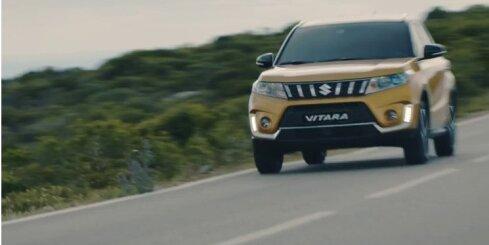 Modernizētais 'Suzuki Vitara' būs tikai ar turbomotoriem