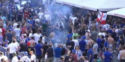 Futbola fanu nekārtības Madridē